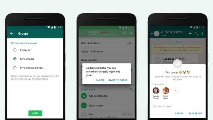 WhatsApp Launches Updated Group Privacy Settings Globally for Android and iPhone Users