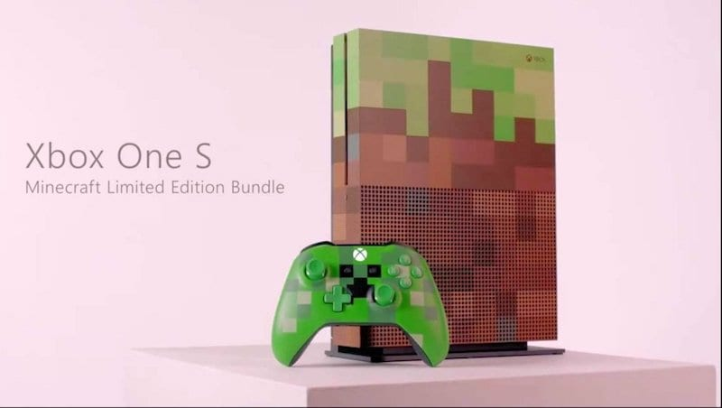 Xbox One S Minecraft Limited Edition Console Price And