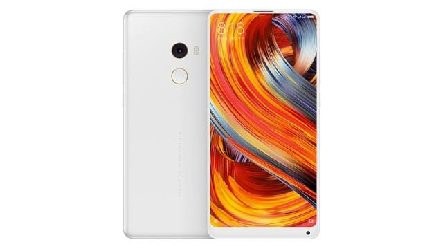 xiaomi mi mix white front back 1505118089408 Xiaomi launched Mi Mix 2, the smartphone is comes with small bezels