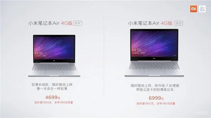 Xiaomi Mi Notebook 4G