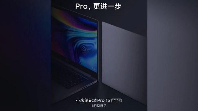 Mi Notebook Pro 15 (2020) 12 June ko ho raha launch