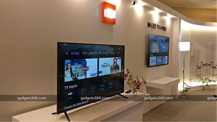 xiaomi mi tv 4 pro gadgets 360 Xiaomi Mi TV 4 Pro