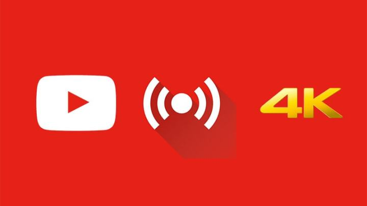 YouTube Gets 4K Live-Streaming Support for Both Standard and 360-Degree Videos