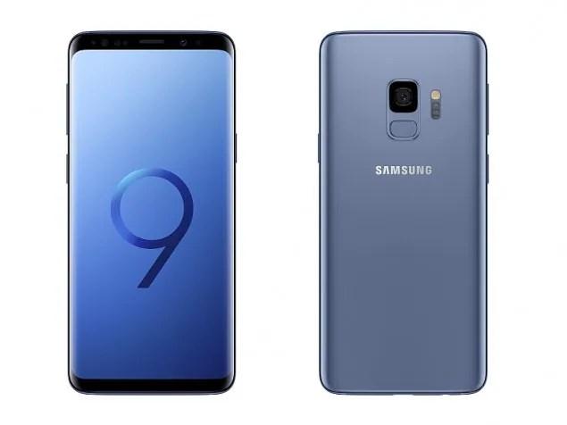 Samsung Galaxy S9(smartphones)