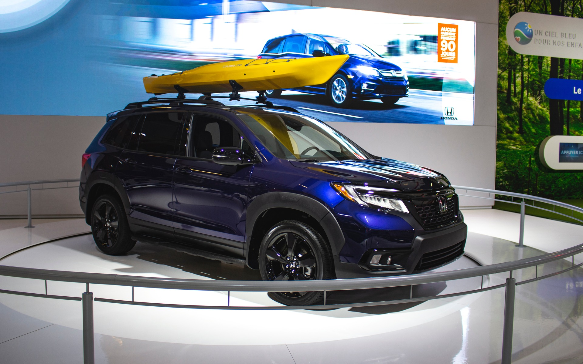 Canadian Premiere Of The 2019 Honda Passport In Montreal