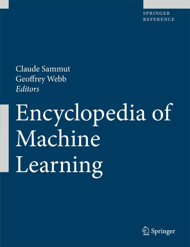Encyclopedia of Machine Learning still most downloaded Springer Reference