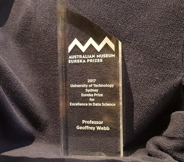 Inaugural Eureka Prize for Excellence in Data Science