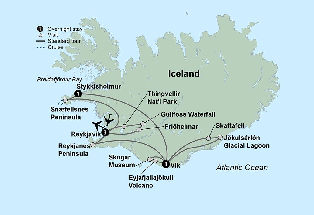 Backroads Iceland Northern Lights