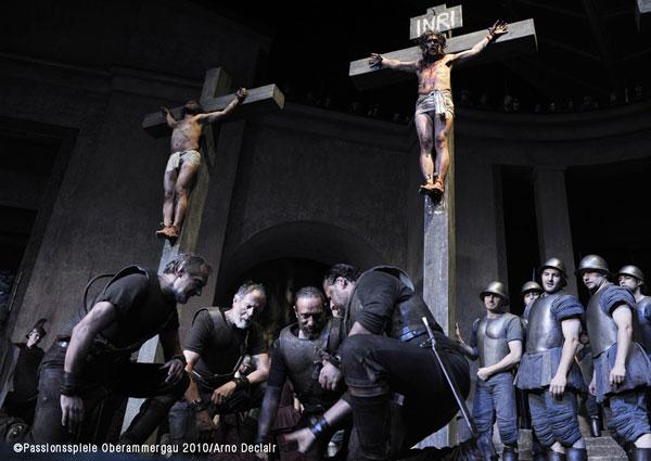 Crucifixion of Jesus Oberammergau