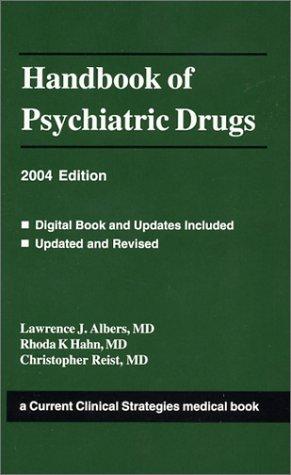 Download Handbook of Psychiatric Drugs