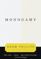 Monogamy Book by Adam Phillips