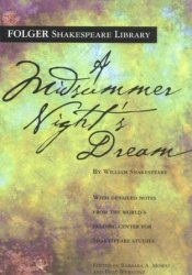 A Midsummer Night's Dream Book by William Shakespeare