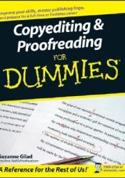 Copyediting and Proofreading for Dummies Book by Suzanne Gilad
