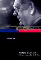 Anatomy of Criticism Book