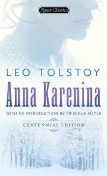 "Cover of Leo Tolstoy's ""Anna Karenina."""