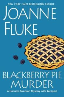"Cover of ""Blackberry Pie Murder"" by Joanne Fluke."