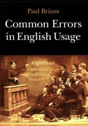 Common Errors in English Usage Book by Paul Brians