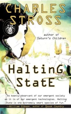 Halting State (Halting State, #1) by Charles Stross