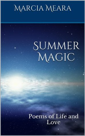 Summer Magic by Marcia Meara book cover ... stars above moon illumined cloud