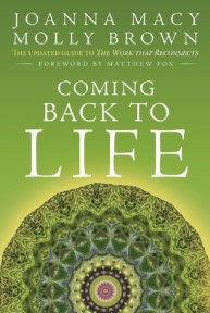 book cover - coming back to life - joanna macy & molly brown