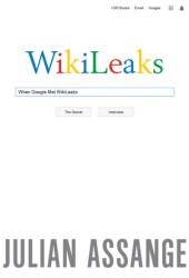 When Google Met Wikileaks Book