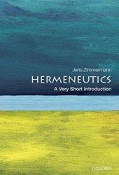 Hermeneutics: A Very Short Introduction Book