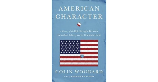 book cover of American Character by Colin Woodard