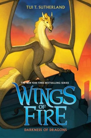 """Cover of """"Wings Of Fire: Darkness Of Dragons"""" by Tui T. Sutherland."""