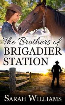 "Cover of ""The Brothers of Brigadier Station"" by Sarah Williams."