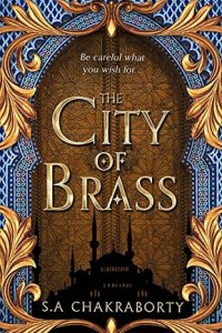 The City of Brass detestable villains book cover