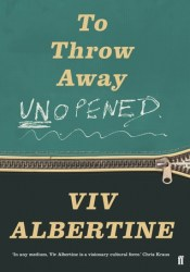 To Throw Away Unopened Book by Viv Albertine