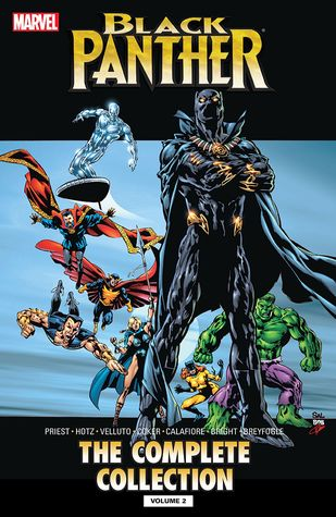 Black Panther By Christopher Priest The Complete Collection Vol