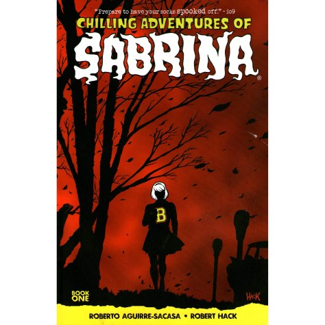 Image result for The cover of Chilling Adventures of Sabrina.
