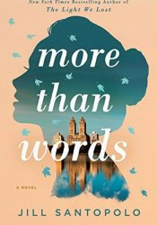 More Than Words Book by Jill Santopolo