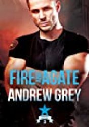 Fire and Agate (Carlisle Deputies, #3) Book by Andrew  Grey