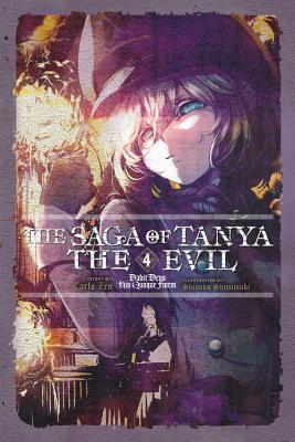 The Saga of Tanya the Evil, Vol. 4: Dabit Deus His Quoque Finem Book Cover