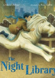 The Night Library Book by David Zeltser