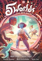 The Red Maze (5 Worlds, #3) Book