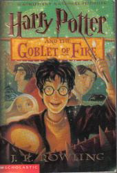 Harry Potter and the Goblet of Fire (Harry Potter, #4) Book
