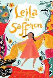 Leila in Saffron Book