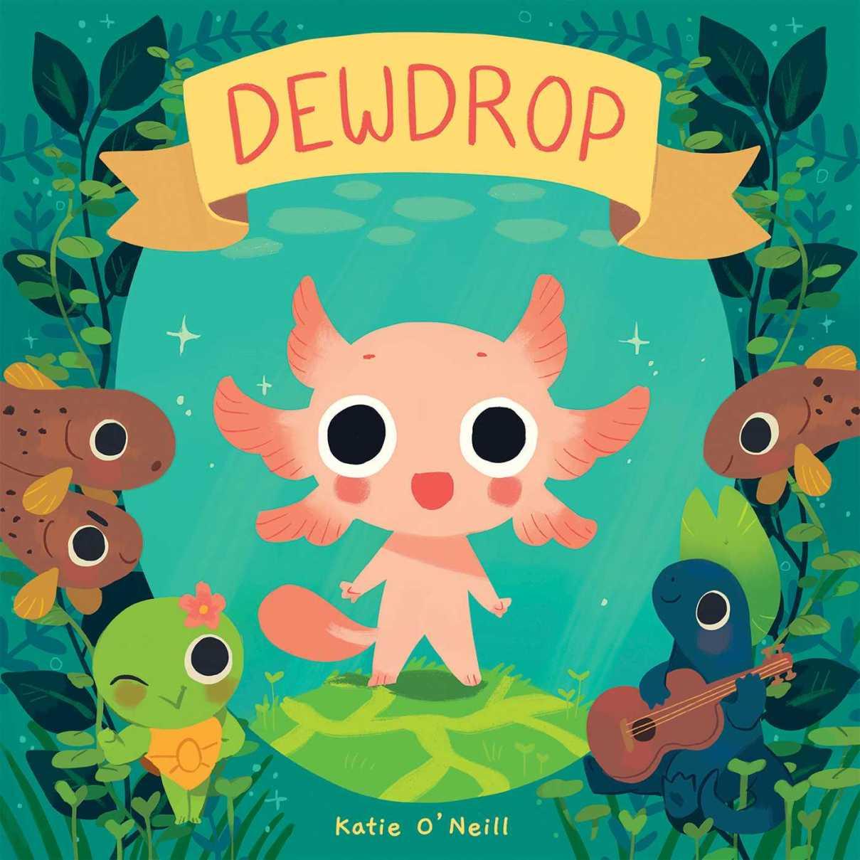 """""""Dewdrop"""", el nuevo libro de Katie O'Neill."""