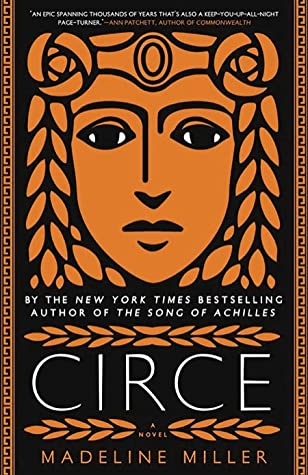 Circe book cover image from a June and July Reading Recap.
