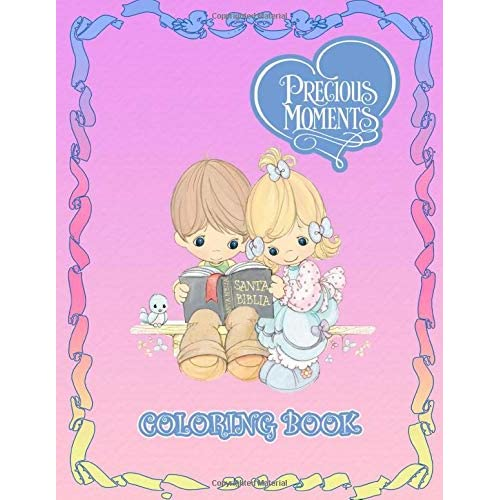 Precious Moments Coloring Book The Sweet Coloring Book For Kids And Adults 38 Illustrations By Rebeca Rollins