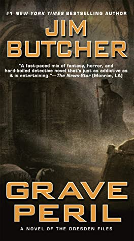 Grave Peril Book Cover