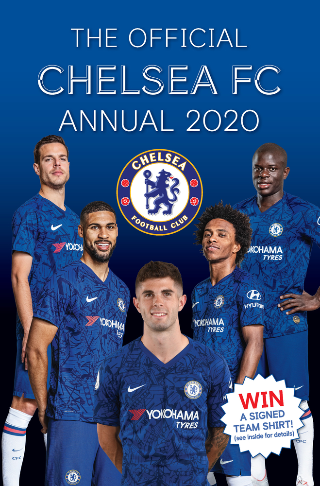the official chelsea fc annual 2021 by