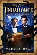 Cover, Unhallowed by Jordan L. Hawk