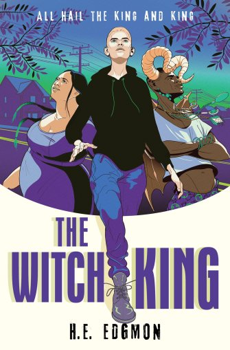 """Cover of """"The Witch King"""" by H.E. Edgmon"""