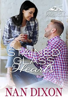 Stained Glass Hearts cover