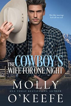 The Cowboy's Wife for Just One Night cover