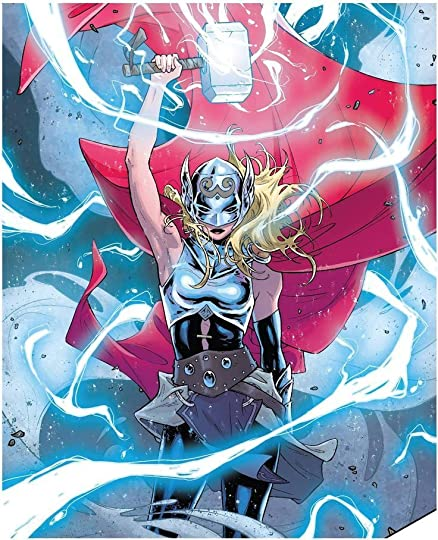 Image result for thor goddess of thunder